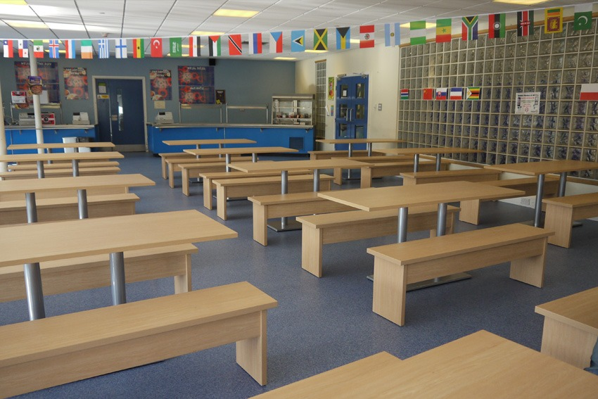 School Canteen Furniture Brigshaw High School