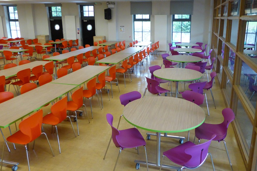 School Dining Furniture Ermysteads Grammar
