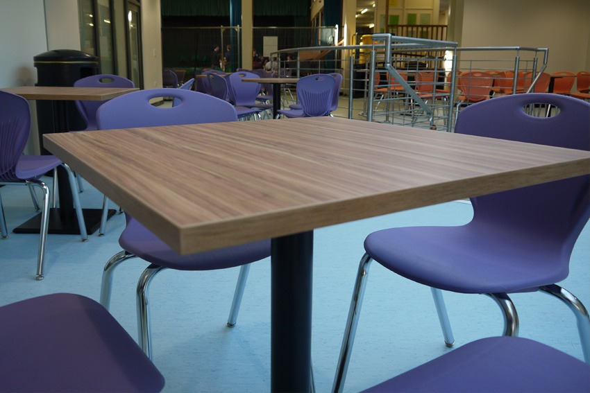 Dining hall furniture greenhead college for Dining hall furniture