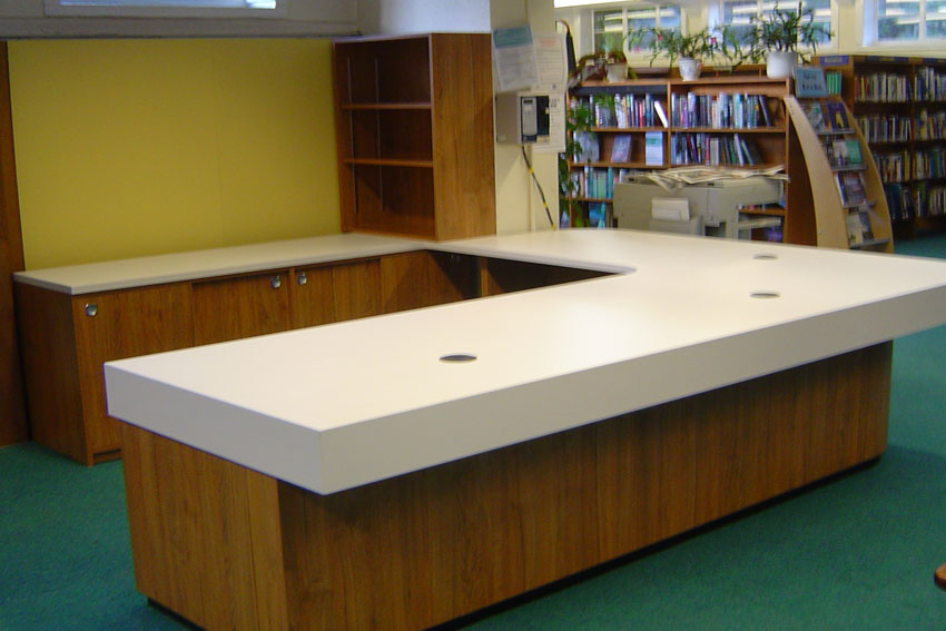 Counter Design Guiseley Library