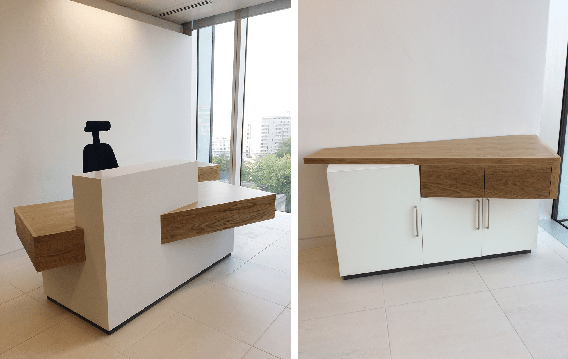 We Installed This Second Custom Reception Desk Design For Lambert Smith  Hampton In Their Manchester Offices Last Week. This Angled Design Always  Gets People ...